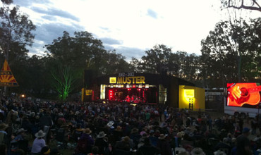 Hats Off to the Gympie Music Muster 2012