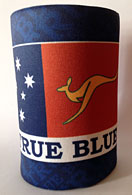 True Blue Stubby Holder (Front)