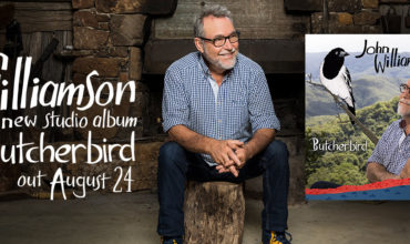 John Williamson to release his new album, Butcherbird, on August 24