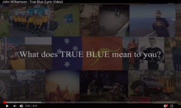 'True Blue' inducted into the National Film and Sound Archives 'Sounds of Australia'